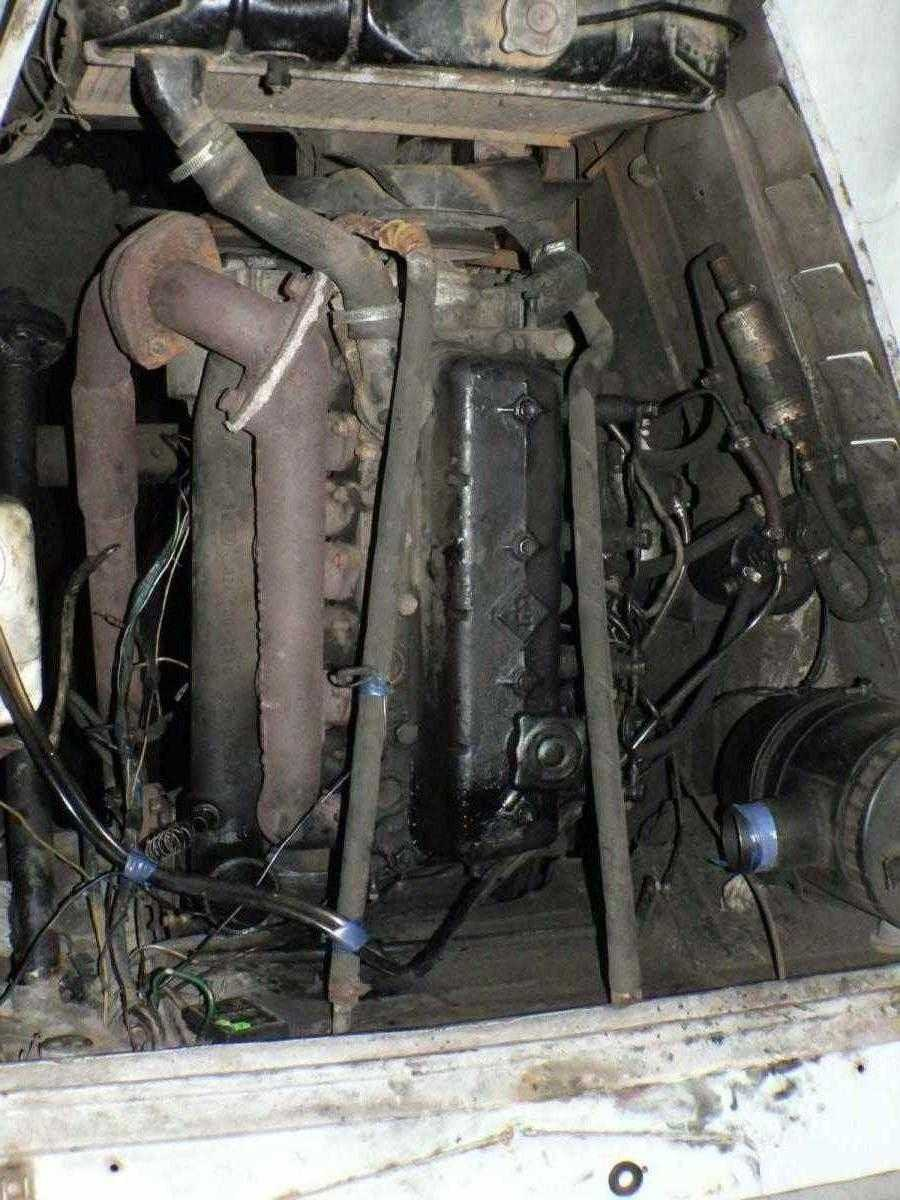 Газ69 ДТ с двиготелем от ИФА мультикар М25