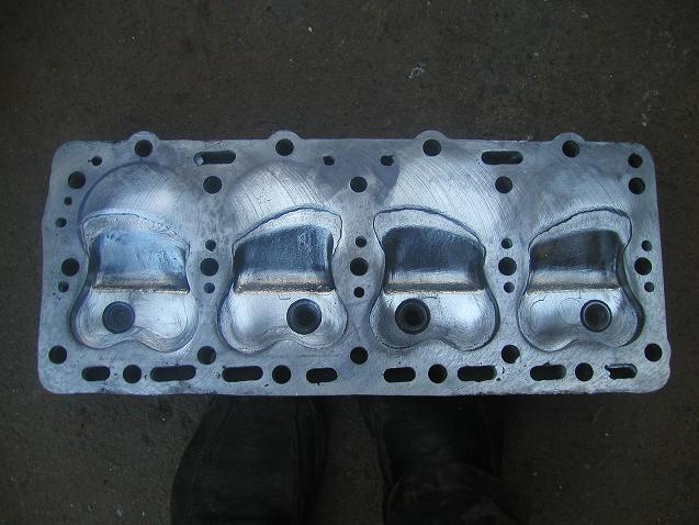 Общий вид головки после ремонта и доработки форкамер.JPG