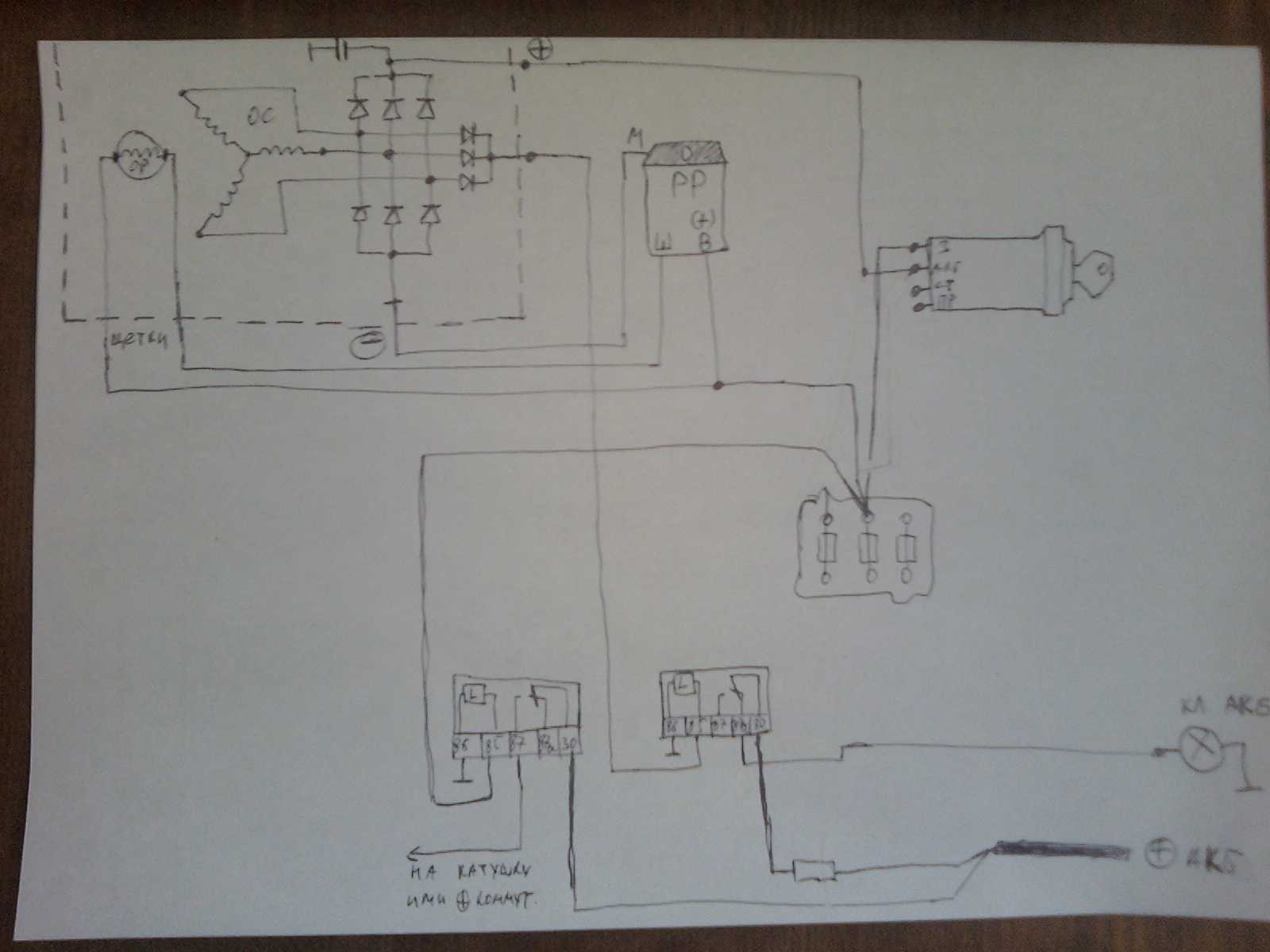 Схема модернизации