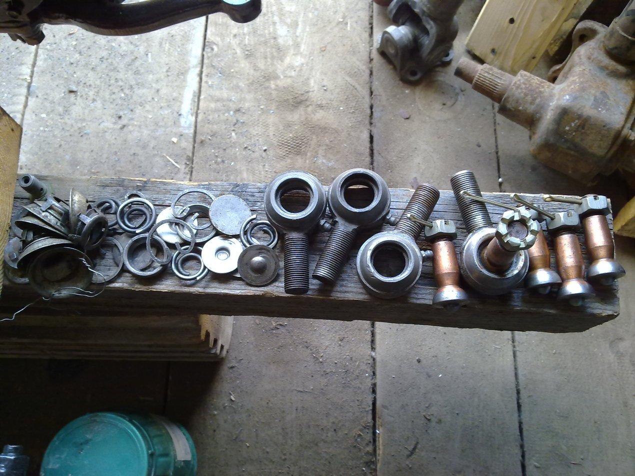 Ремкомплект рулевах наконечников