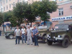 Встреча любителей ретро-техники в Калуге на день молодёжи 23