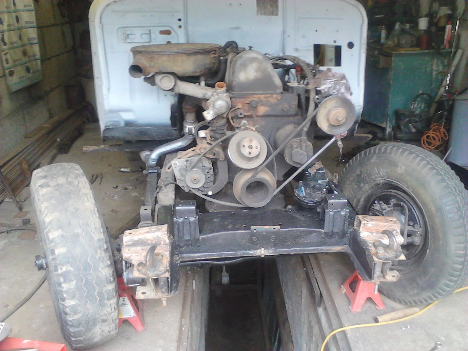 мотор (ОМ616)