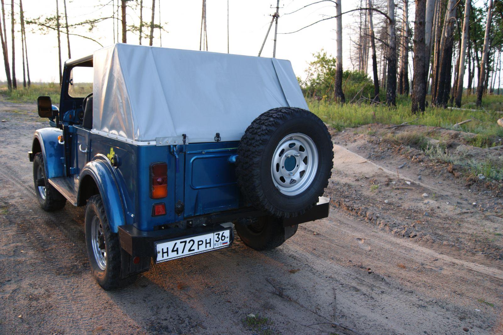 Бампер на газ-69