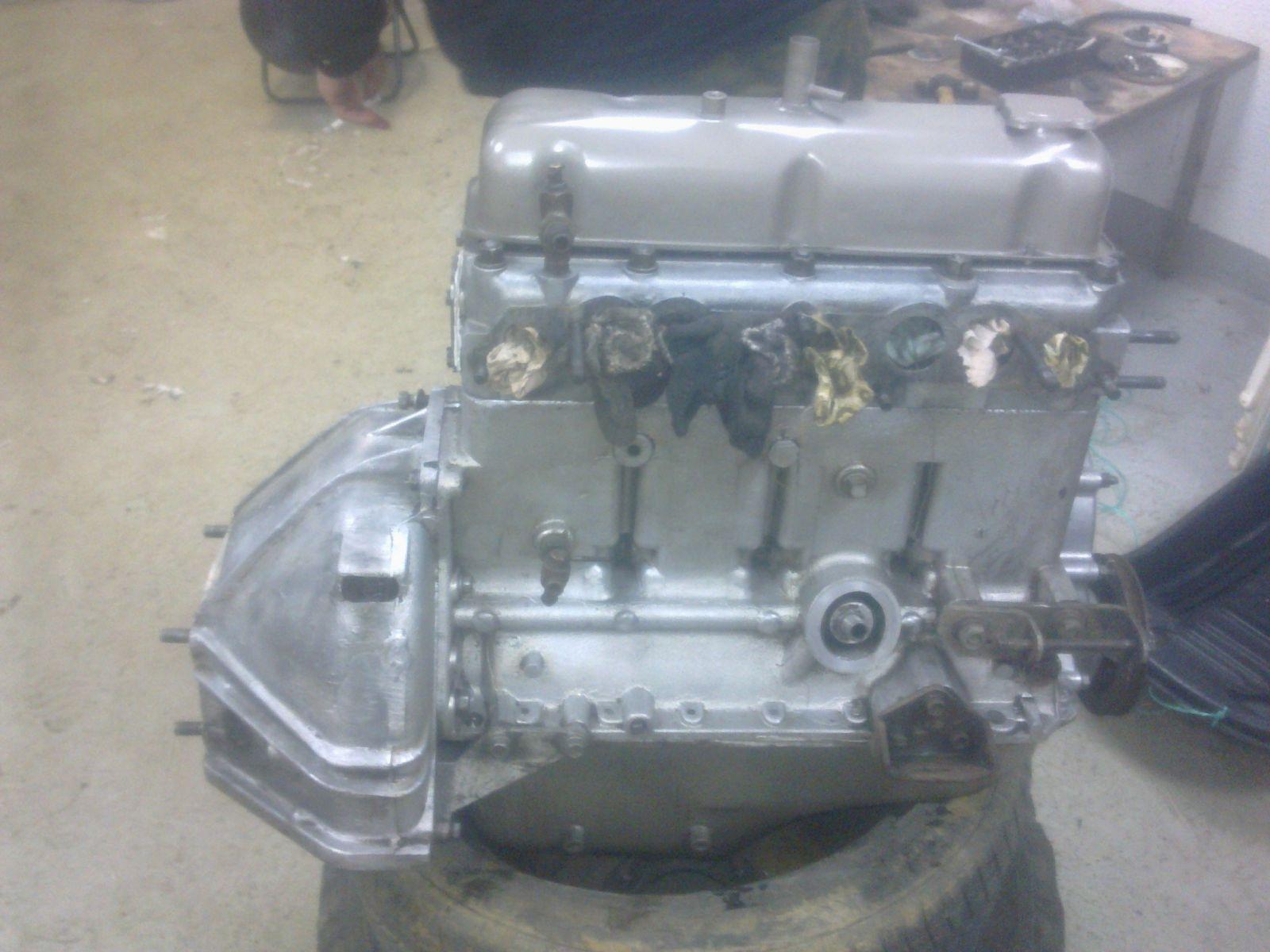 ну вот и пламенный мотор почти готов