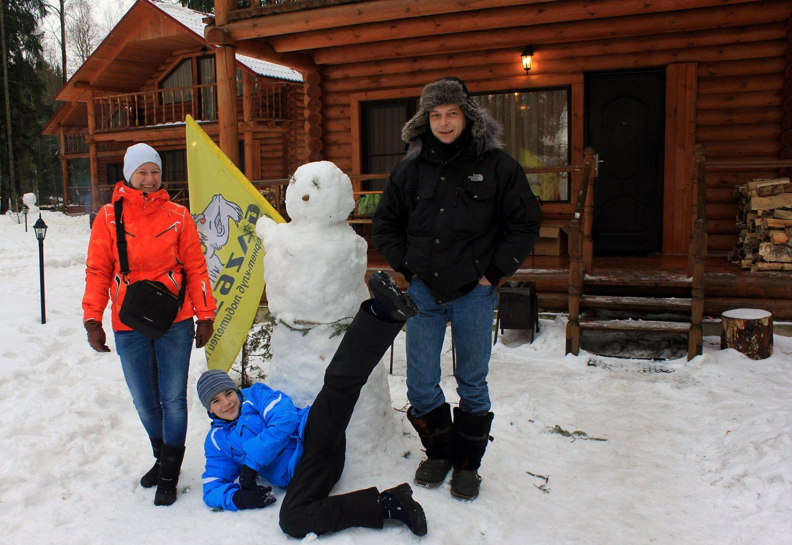 Сергей, Маша и Егор