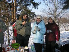 Встреча на природе с семьями, в Москве 17.02.2013