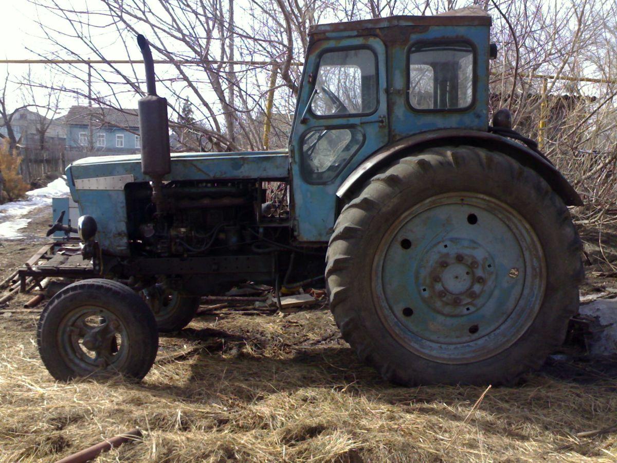 трактор деда