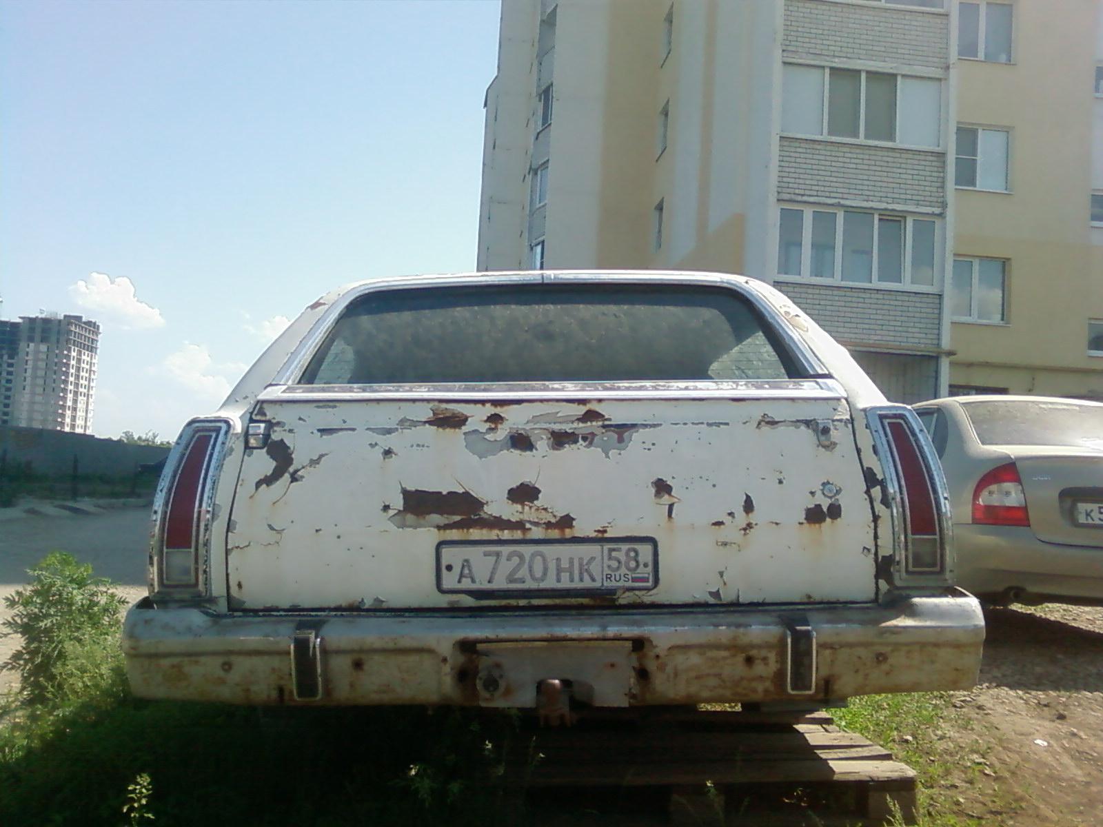 GALAXIE 500 1973 зад
