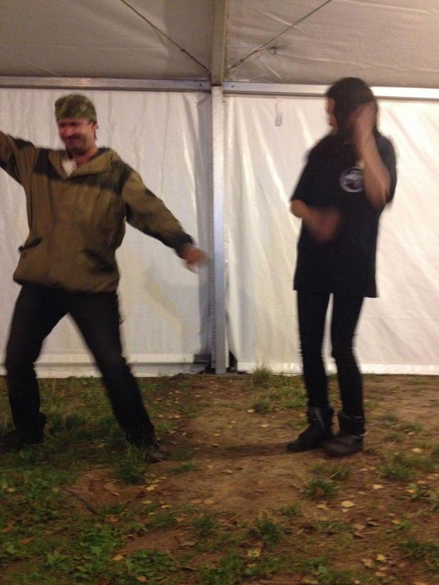 непарные танцы