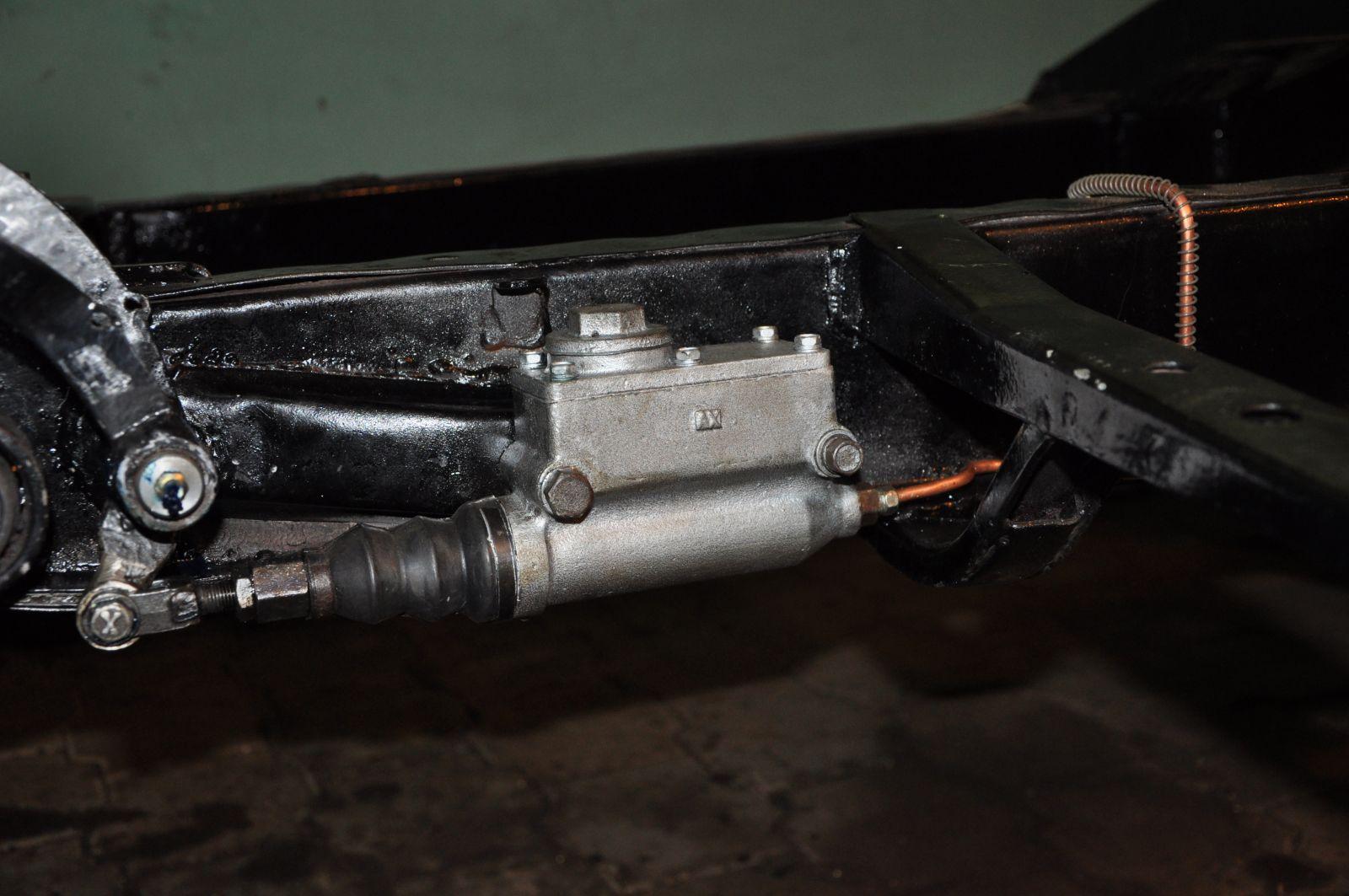 Педальный узел полный ремонт, новый вал, втулки развёртки, ГТЦ