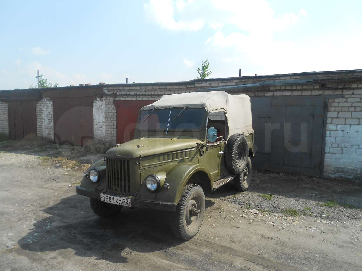 ГАЗ 69 1968