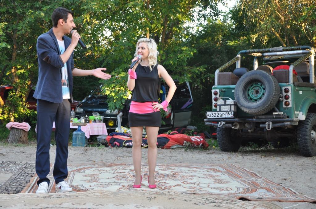 выступление в лагере на берегу  творческих коллективов города5