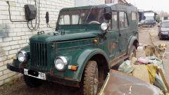 Мой ГАЗ 69 1958 г.в.(Восстановление)
