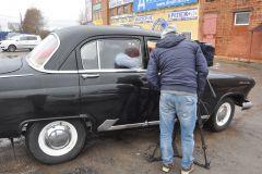 Съемка ГАЗ 21