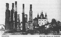 Руины Смоленска и Успенский собор. Оккупационная открытка 42.jpg