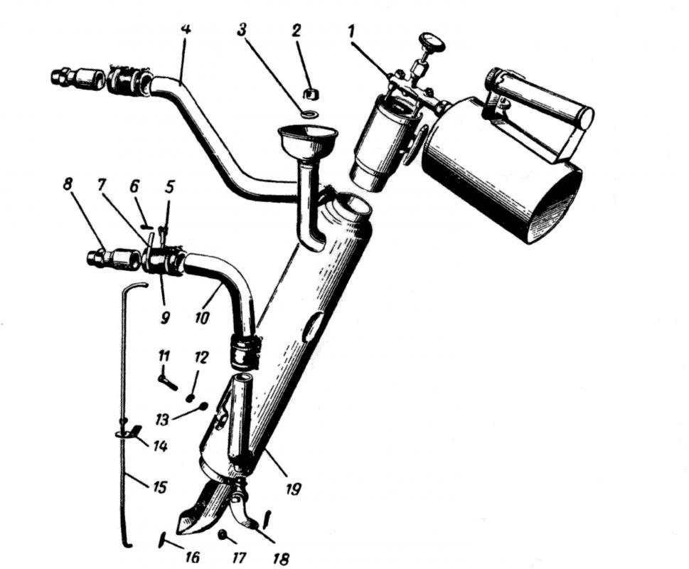 Предпусковой подогреватель двигателя газовый своими руками