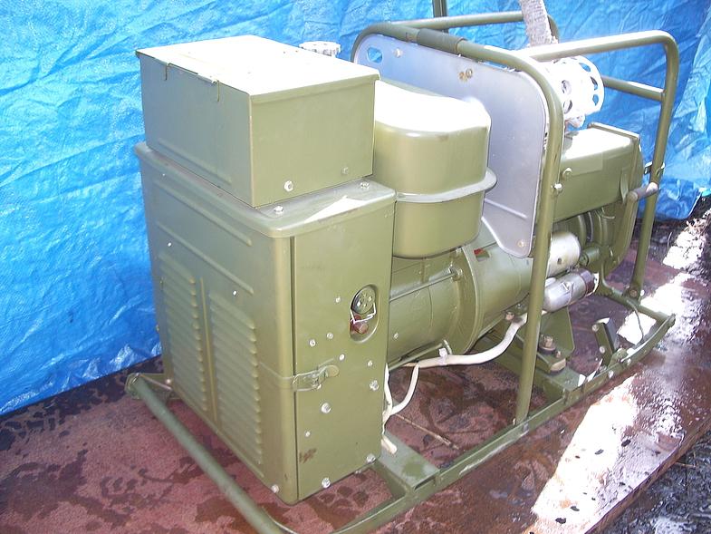 Бензиновый генератор zenith