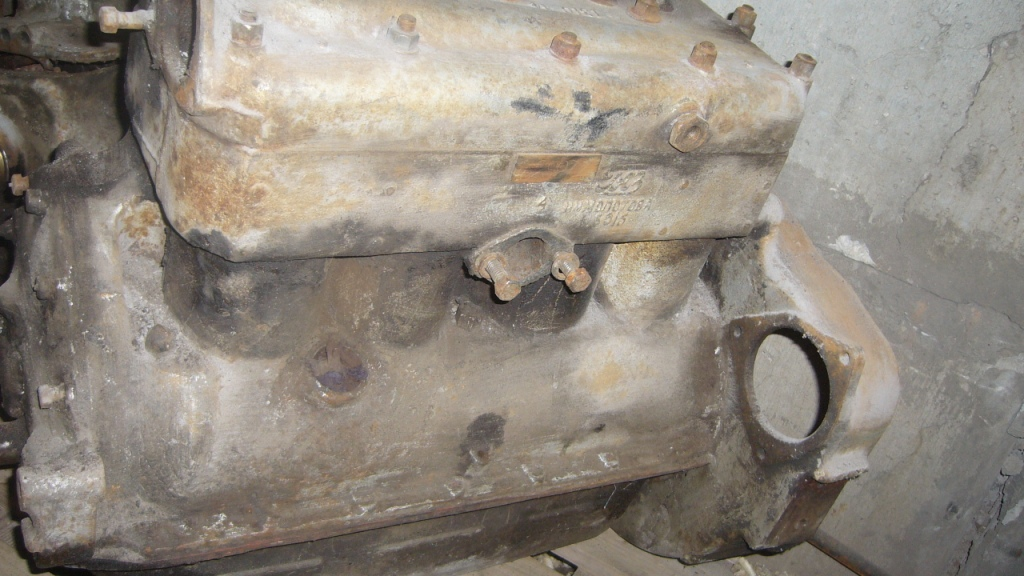 двигатель газ-67 фото
