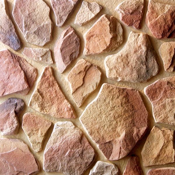 как неровно выложить камушки на стену в 3 д макс