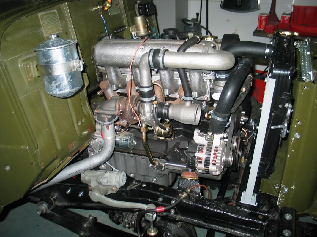 Дизельный двигатель на уаз своими рук 64