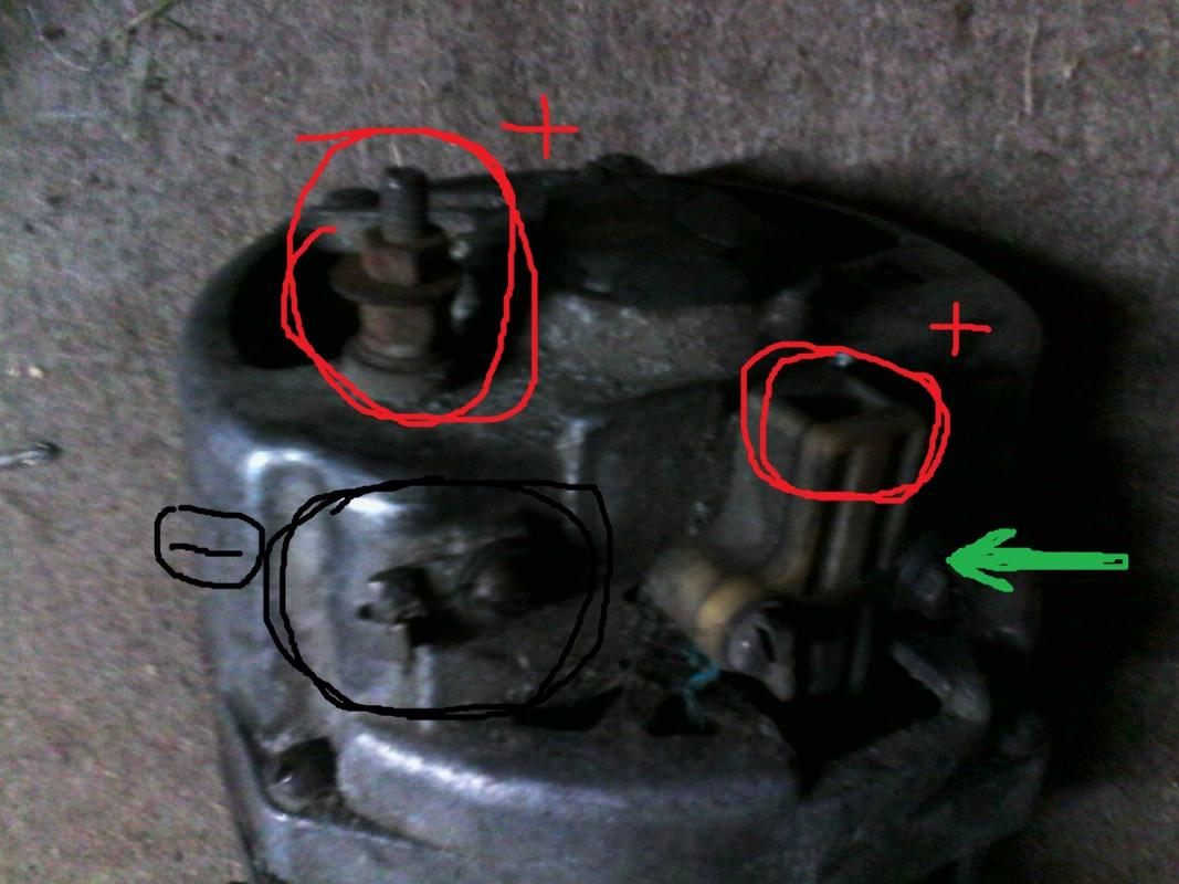 схема статора стартера ваз 11113