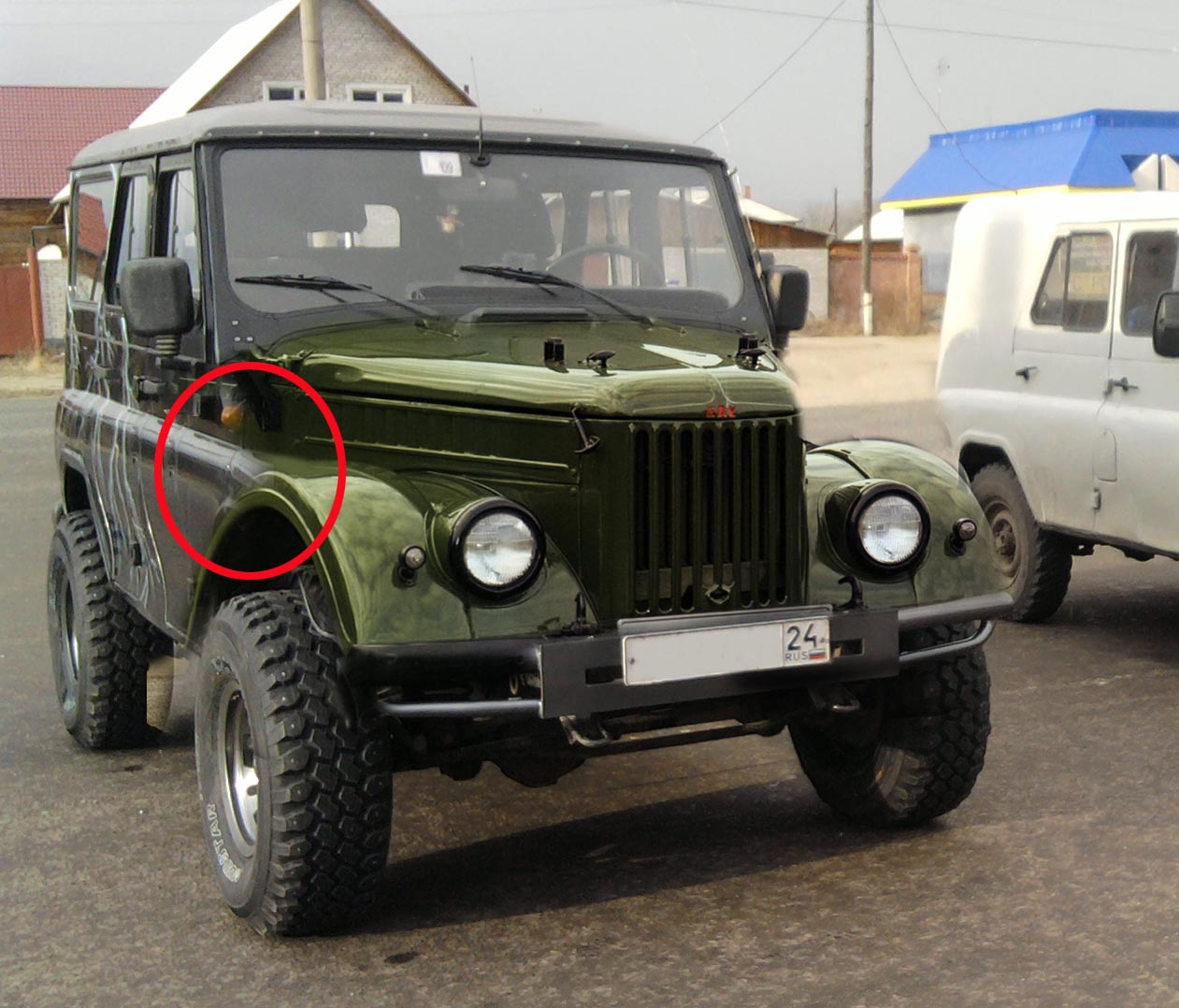 ГАЗ-69 тюнинг (34 фото)