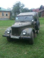 Мой УАЗ 1963 года.