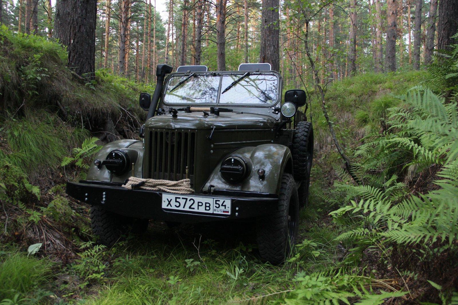 Мой ГАЗ-69. После восстановления.
