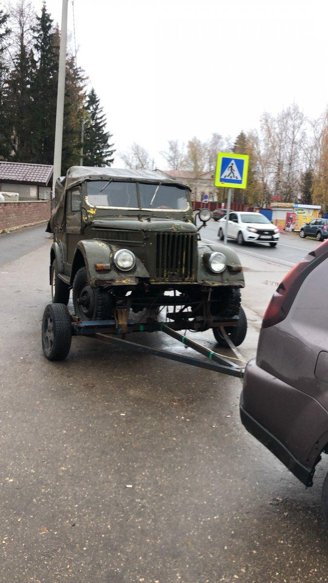 Начало проект ГАЗ 69А