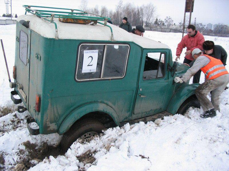 Кубок г.Львова по джип-триалу (29.02.2004)