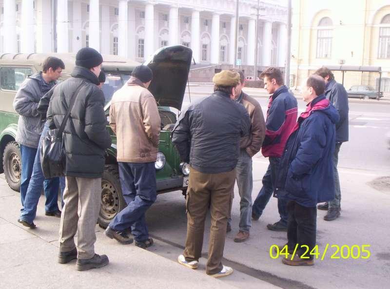 Встреча Питерской секции клуба 24.04.05