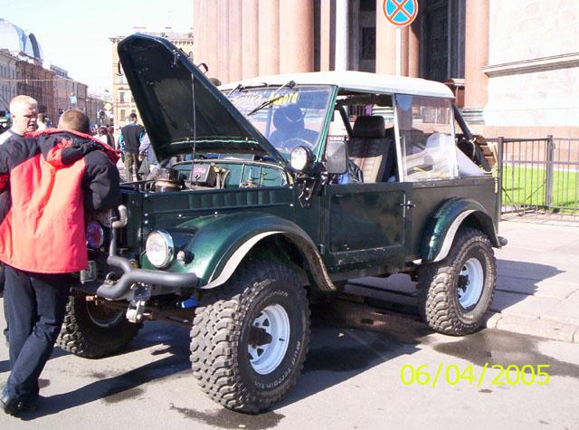 Машина из Петрозаводска