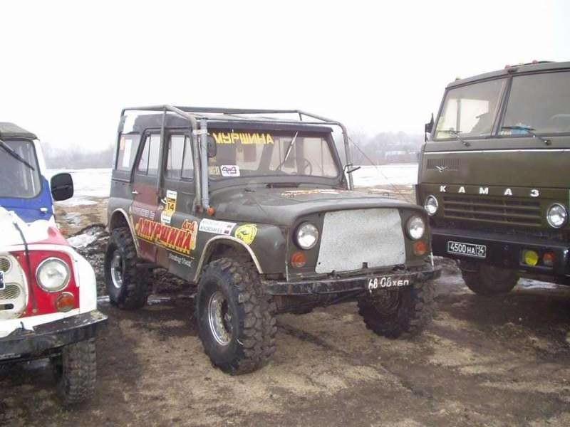 УАЗ на Super Swamper TSL - Хабаровск