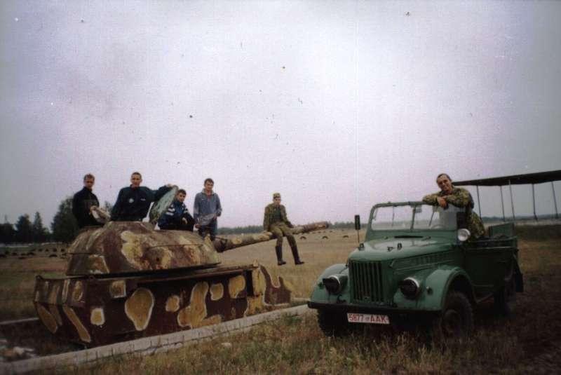 Жаль, не удалось танк завести!