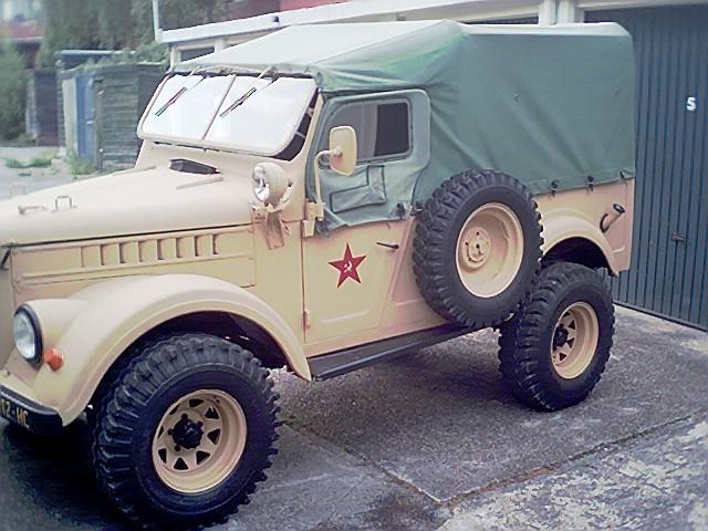Голландия ГАЗ 69M 1958 год