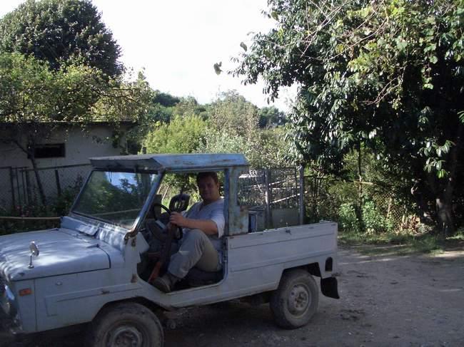 В Абхазии любят внедорожники