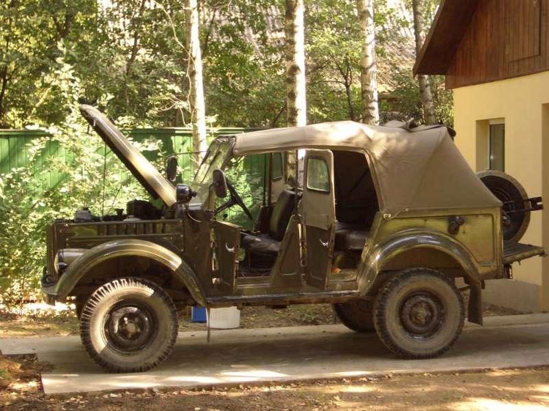 ГАЗ-69А - всё нараспашку