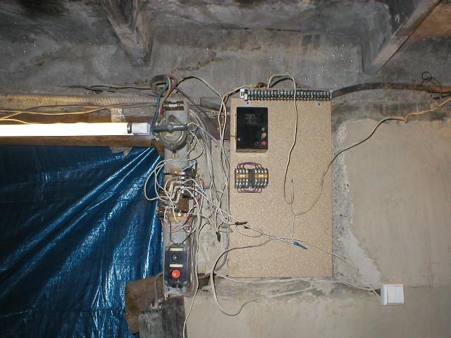 Кошмар гаражного электрика:-)