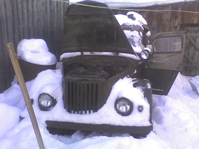 На зимовке