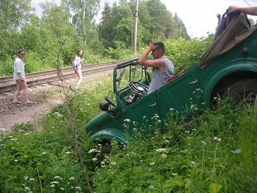 Штурм железной дороги