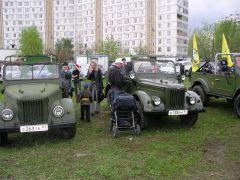Москва, Ретромотор 9 мая 2005 года