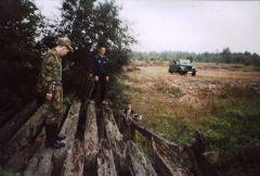 На старом танкодроме