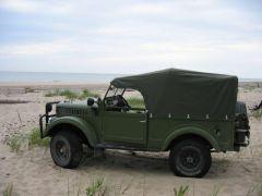ГАЗ-69 из Латвии