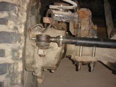 передняя пружинная тяга поперечная сделана с верху