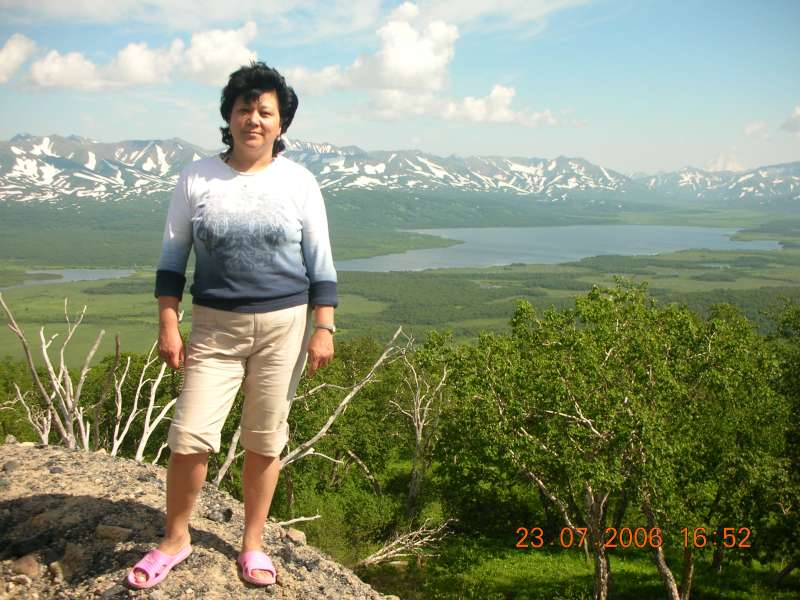 п-ов Камчатка, Начикинский перевал