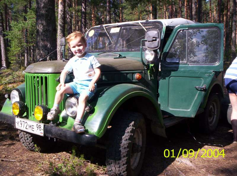мой второй авто с младшим сыном