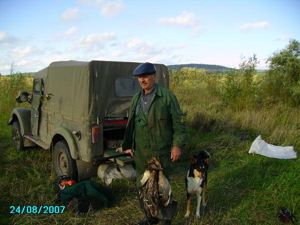 С другом на открытии охоты