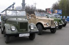 Москва, Ретромотор 9 мая 2006 года