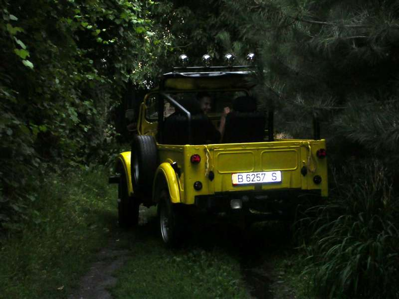 Типа в лесу :-)