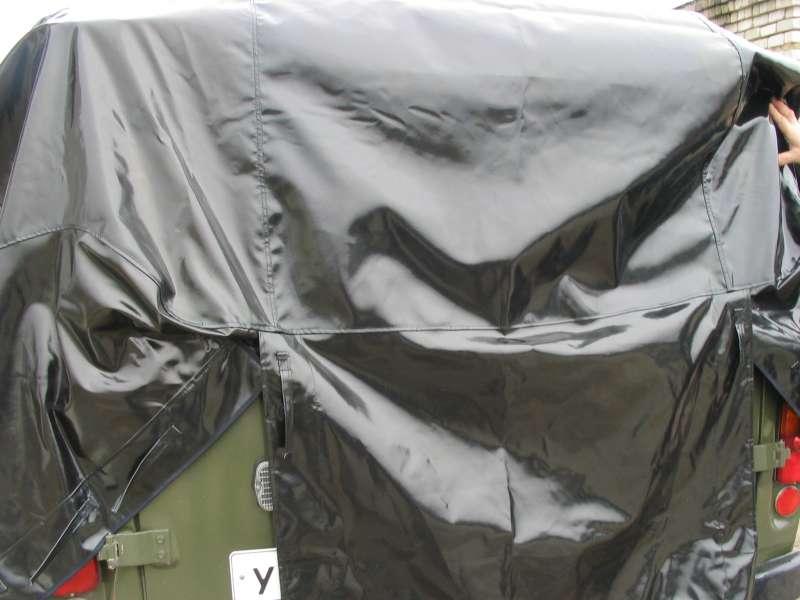 Тент черного цвета